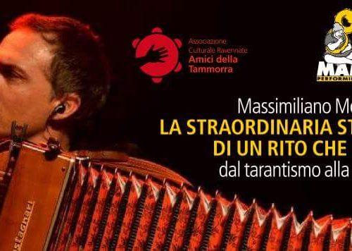 Massimiliano Morabito presenta: DAL TARANTISMO ALLA PIZZICA