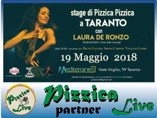 Taranto – Laboratorio di Pizzica Pizzica a cura di Laura De Ronzo