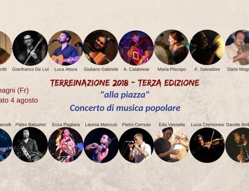 Festival della Cultura Popolare TerreInAzione 2018 Festival – 3° Edizione