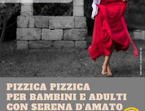 """Serena D'Amato, corso di """"Pizzica Pizzica""""alla ICOS Lecce"""
