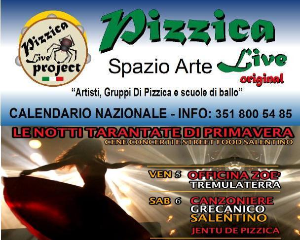 Calendario Pizzica.Serate Pizzicate Di Aprile 2019 Blog Di Pizzica Live