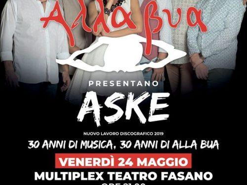"""Alla Bua presentano: """"Aske"""" – 30 anni di musica"""
