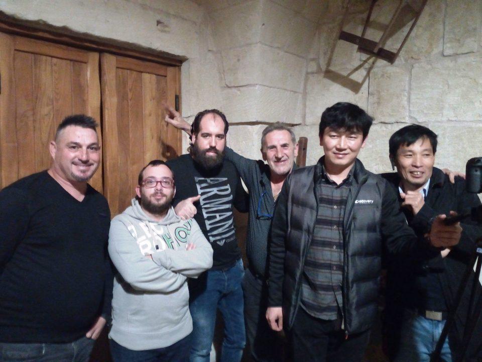 Carlo Canagli De Pascali, Luigi Marra,Leonardo Cordella, Luciano Cesiri , Seong Tae-Won e Kim Chang Ho.