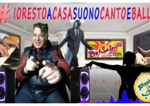 IO RESTO A CASA SUONO CANTO E BALLO con il flashmob sonoro di Pizzica Live e belsalento.com