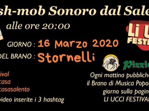 FLASH-MOB SONORO dal SALENTO