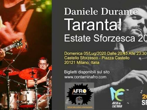 Taranta on Tour con Daniele Durante – Estate Sforzesca 2020